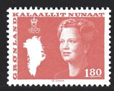 Greenland 1982 180 Ore Queen Margrethe II Mint Unhinged