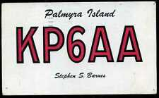 CARD  CARTE  QSL  radio amateur  ISLAND    ( 436 )