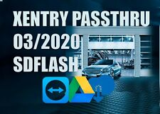 NEW 03.2020 MB XENTRY PASS THRU + SDflash Firmware 2019 FOR VAS5054a J2534