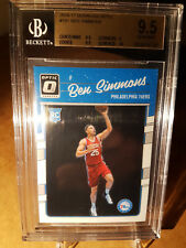 2016-17 Panini optic #151 ben Simmons RC bgs 9.5 Gem Mint Roy