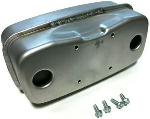 New Exhaust Muffler Replaces 751-0616B 951-0616B Muffler Dual Inlet with bolts