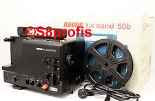 Super 8 Tonfilmprojektor,Revue Lux Sound 50b mit OVP, 2 Jahre Gew.& Gar.