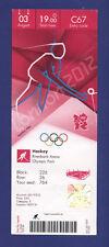 Orig.Ticket  Olympic Games LONDON 2012  -  HOCKEY    SOUTH AFRICA - SPAIN  !!