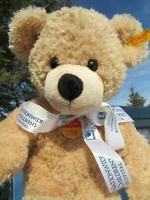 "STEIFF TEDDY BEAR SOFT FLOPPY 15"" PLUSH CHILDRENS HOSPITAL BUTTON EAR CHEST TAG"