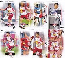 New York Red Bulls 2017 TOPPS TEAM SET all cards from Current Roster