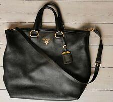 Prada   Tasche   Leder  Original Gebraucht Braun