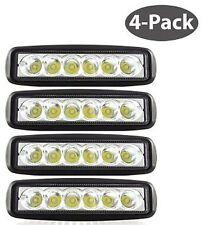 LED 18W High Power Work Light Lamp (4-Pack) - For Off Road, Truck, Boat, ATV,...