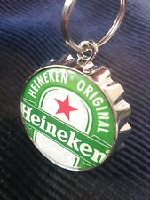 Heineken Beer Bottle Opener and Keychain - Brand New