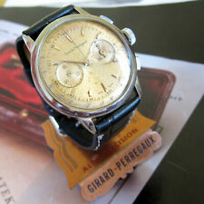 Original Vintage Girard Perregaux Chronograph watch Swiss Made 1960s Never touch