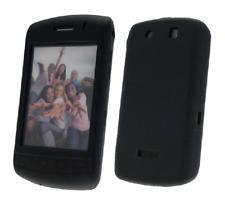 Funda Silicona (NEGRO) Blackberry 9500 Storm