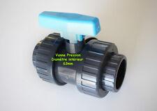 Vanne pour piscine PVC Pression ⌀ 63mm intérieur