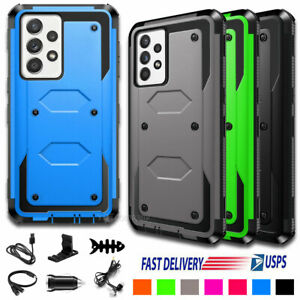 For Samsung Galaxy A52 /5G Case Shockproof Hard Armor Phone Cover W/ Accessories
