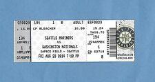 Bryce Harper Career Home Run #50 Ticket Stub (Full) - Washington Nationals