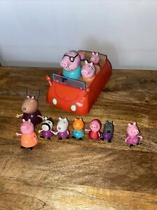 Peppa Pig Figures And Car