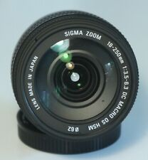 Sigma DC 18-250mm f/3.5-6.3 OS HSM DC Lens For Canon ef-s crop frame