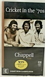 CRICKET IN THE 70's: THE CHAPPELL ERA - PAL VHS VIDEO -127 MINS Rare Collectors