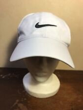 0172e1c7dc4 Mens Nike Golf Embroidered Swoosh White Golf Hat Polyester Baseball Cap One  Size