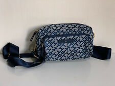 NEW! TOMMY HILFIGER CONVERTIBLE HIP FANNY PACK WAIST BELT CROSSBODY BAG $85 SALE