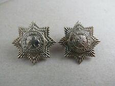 Military Collar Badge Pair 4th Royal Irish Dragoons British Army Ireland
