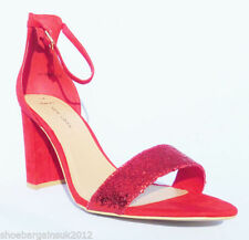 Strappy, Ankle Straps Textured Textile Heels for Women