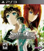 Steins;Gate [PlayStation 3 PS3, USA CAN, Anime Thriller Mystery Game] NEW