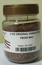 3 OZ VANILLA TEA POWDER FROM BALI - TRACKING NO PROVIDED