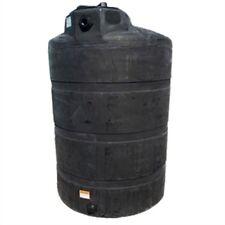 500 Gallon Black Vertical Rain Water Harvesting Collecting Tanks Norwesco Fda