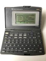 Vintage Texas Instruments Pocket Organiser PS-6800 Calculator. 128kb With Manual
