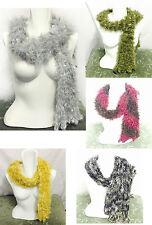 Unbranded Fur Patternless Scarves & Shawls for Women