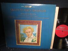 """Benjamin Britten """"Salute to Percy Grainger"""" LP with Insert"""