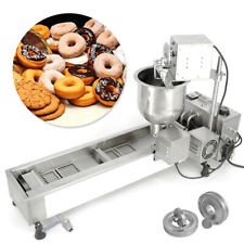 More details for wide oil tank donut maker making machine automatic 220v +3 sets mold commercial