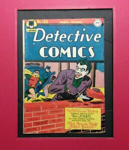 DETECTIVE COMICS #109   SCARCE JOKER  BATMAN  1946  DC  5.0   WHITE P  NO RESTO