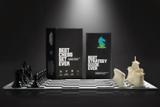 Best Chess Set Ever: Strategy Board Game for Kids & Adults - Heavy Chess Pieces!