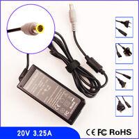 20V 3.25A Ac Adapter Charger for IBM / Lenovo / Thinkpad PA-1650-161 SL510