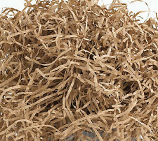 6oz. TAN KRAFT BROWN Fine Gift Basket Shred Shredded Paper Filler Bedding Grass