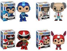 Funko POP! Games ~ MEGA MAN SET ~Rush, Dr. Wily, Proto Man, Mega Man ~ IN STOCK