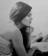 DEBORAH SHELTON sexy clipping Dallas B&W photo 1980s beach profile Mandy Winger