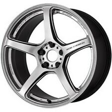Work Emotion T5r 19x85j95j Glow Silver Set Of 4 For Lexus Rc F From Japan