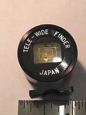 Vintage Tele-Wide Finder Yashica Electro 35 GS GSN GT GTN Japan Mint condition