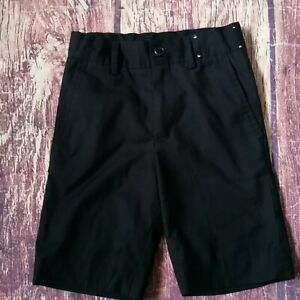 David Oliver black dress shorts sz 4