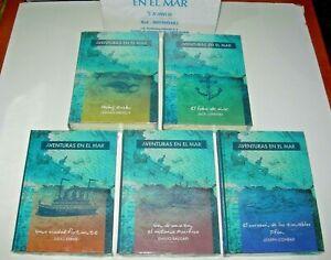 Aventuras en el mar - 5 tomos nuevos