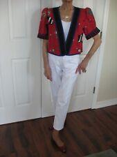 New listing Vintage Jeanne Marc Crop Jacket Size Petite 4/6