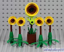 LEGO - 5x Sunflower Plants w/ Stems & Leaves - Garden House Farm Seeds City Lot