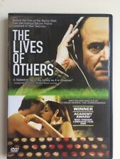 THE LIVES OF OTHERS - Ulrich Muehe - Sebastian Koch - Region 1 DVD