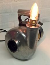 UPCYCLED PUMP TABLE LAMP / STEAM PUNK LAMP / MAN CAVE LAMP