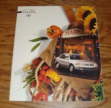 Original 1998 Toyota Corolla Deluxe Sales Brochure 98