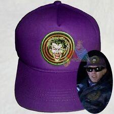 Batman Joker Gang Logo Gabardine Purple Hat Jack Nicholson Tim Burton Replica 89