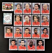Panini FIFA World Cup South Africa 2010 Complete Team Switzerland + Foil Badge