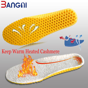 3ANGNI -Keep Warm -Double Sided - Breathable Deodorization shoe insoles all size