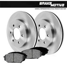 For 2006 2007 2008 2009 2010 Hummer H3 H3T Front Brake Rotors And Metallic Pads